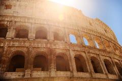 Colosseum Coliseum in Rome, Italië royalty-vrije stock foto's