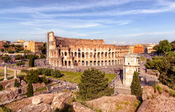 Colosseum (Coliseum) in Rome Royalty Free Stock Photography