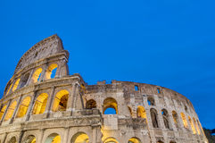 The Colosseum, or the Coliseum in Rome, Italy Stock Image