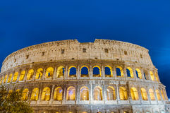 The Colosseum, or the Coliseum in Rome, Italy Stock Photo