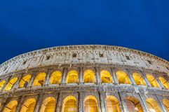 The Colosseum, or the Coliseum in Rome, Italy Stock Images