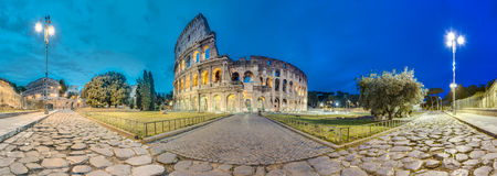 The Colosseum, or the Coliseum in Rome, Italy Stock Photography