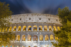 The Colosseum, or the Coliseum in Rome, Italy Royalty Free Stock Photography