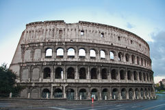 Colosseum or coloseum at Rome Italy Royalty Free Stock Photo