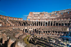 Colosseum or coloseum at Rome Stock Photography