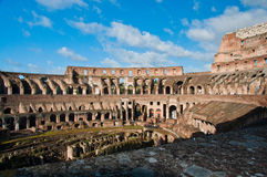 Colosseum or coloseum at Rome Italy Royalty Free Stock Images