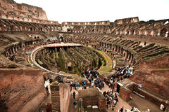 Colosseum or coloseum at Rome Italy Royalty Free Stock Image