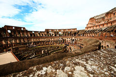 Colosseum or coloseum at Rome Italy Stock Images