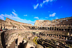 Colosseum or coloseum at Rome Italy Stock Photo
