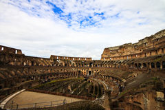Colosseum or coloseum at Rome Royalty Free Stock Photos