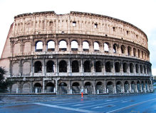 Colosseum or coloseum at Rome Italy. With Sunny Sky Stock Photography