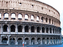 Colosseum or coloseum at Rome Royalty Free Stock Photo