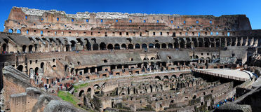 Colosseum/Colosseo Stockbild