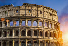 Colosseum Colosseo in Rome Stock Image