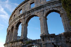 Colosseum in Croatia Royalty Free Stock Image