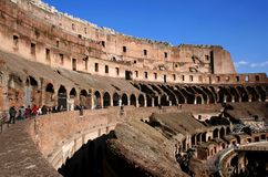 Colosseum by Day. Italy Rome Colosseum by Day stock image