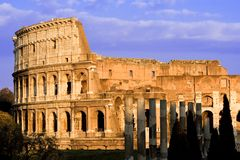 Colosseum by Day. General View royalty free stock photography