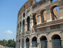 Colosseum Day detail Royalty Free Stock Photography