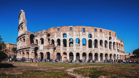 Colosseum. Daytime photo of the Colosseum in Rome, Italy Royalty Free Stock Photography
