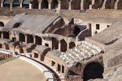 Colosseum de dentro-V-Roma Imagens de Stock