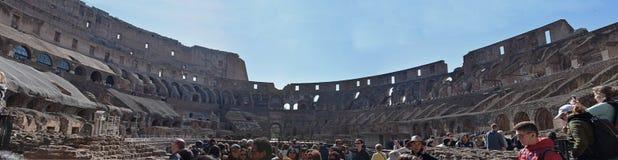 Colosseum de Itália, Roma imagem de stock