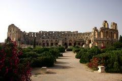 Colosseum de jem d'EL Image libre de droits