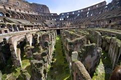 Colosseum in de Lente Stock Foto