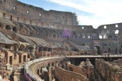 Colosseum de Roma en Lazio en Italia Fotografía de archivo