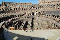 Colosseum de Roma en Lazio en Italia Foto de archivo libre de regalías