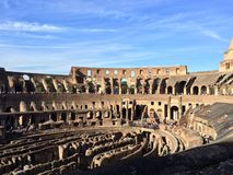 Colosseum de Rome au Latium en Italie Images libres de droits