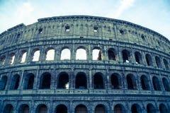 Colosseum in de Wijnoogst van Rome Italië Royalty-vrije Stock Fotografie