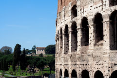 Colosseum detail Stock Image