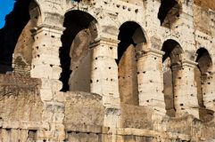 Colosseum detail Royalty Free Stock Photo