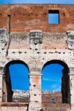Colosseum - detalle arquitectónico Fotografía de archivo