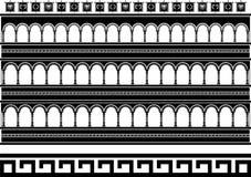 Colosseum di fantasia Fotografie Stock Libere da Diritti