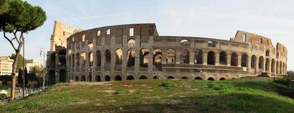Colosseum do panorama imagem de stock