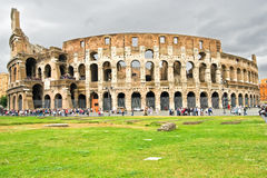 Colosseum Dome in Rome, Italy Royalty Free Stock Photos