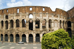 Colosseum Dome in Rome, Italy Royalty Free Stock Image