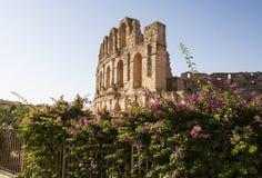 Colosseum Ej Djem Stock Photo
