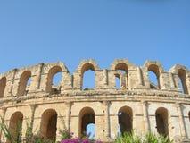 Colosseum, El Djem Стоковая Фотография RF