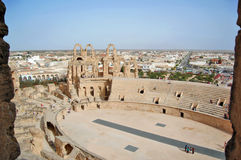 The Colosseum el Djem Royalty Free Stock Photos