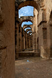Colosseum of El Djem Stock Photo