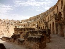 The Colosseum in El Djem Royalty Free Stock Photo
