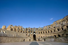 Colosseum in El Jem Stock Photography