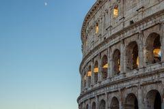 Colosseum eller Flavian Amphitheater External Detail, Rome, Italien royaltyfria bilder