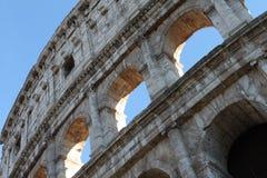 Colosseum, elliptischer Flavian-Amphitheatre Stockbild