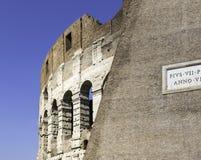 Colosseum em Roma Italy Imagem de Stock Royalty Free
