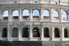 Colosseum em Roma Vista frontal imagens de stock