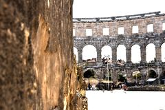 Colosseum en royaltyfria foton