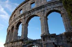 Colosseum en Croatia imagen de archivo libre de regalías